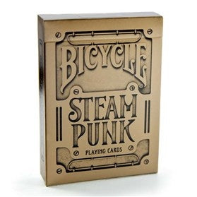 Playing Cards - Steam Punk Gold