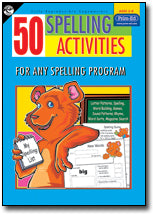 50 Spelling Activities Ages 5-8