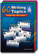 60 Writing Topics Ages 5-7