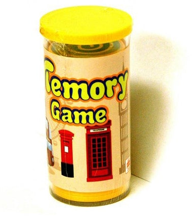 Memory Game Traffic Tube 24Pcs