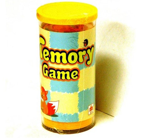 Memory Game Animals Tube 24Pcs