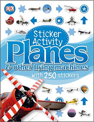 Planes and Other Flying Machines - Sticker Activity Book