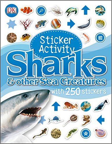 Sharks and Other Sea Creatures - Sticker Activity Book