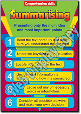 Comprehension Skills - Posters