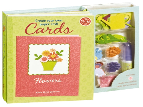 Create Your Own Paper Craft Cards - Flowers - Klutz