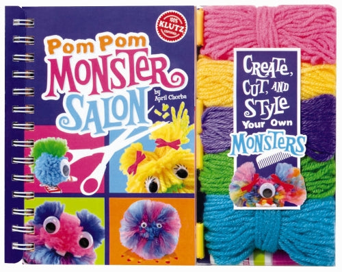 Pom Pom Monster Salon - Klutz