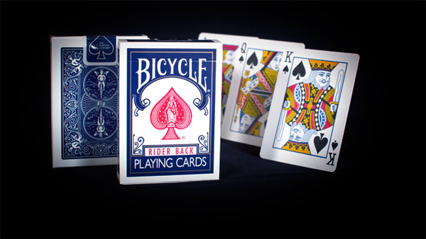 Playing Cards - Bicycle Poker 807 Rider Back