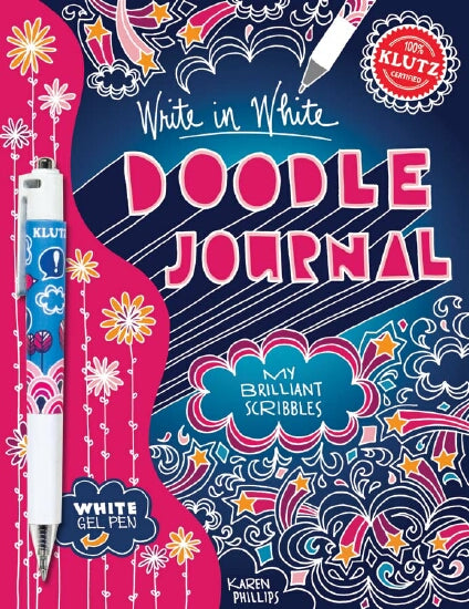 Write in White Doodle Journal - Klutz