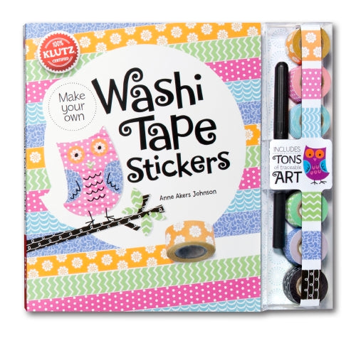 Washi Tape Stickers - Klutz