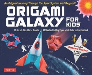 Origami Galaxy for Kids - An Origami Journey Through the Solar System and Beyond