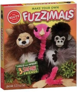 Make Your Own Fuzzimals - Klutz