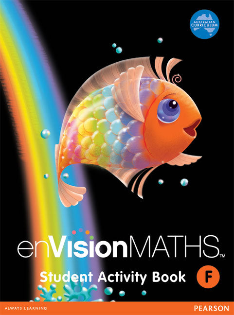 Envision Maths - Student Activity Book Book 1