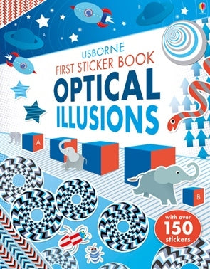 First Sticker Book - Optical Illusions
