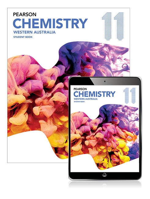 Pearson Chemistry 11 Western Australia Student Book with eBook