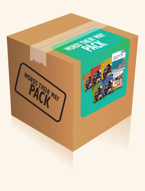 Words Their Way Pack 2nd Edition