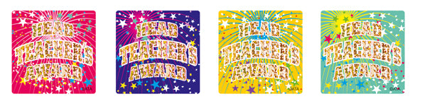 Head Teachers Award 29mm - Laser Stickers