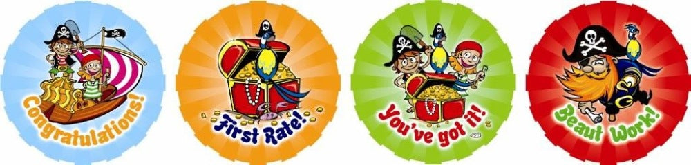Pirates - Merit Stickers