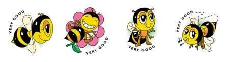 Bees - Merit Stickers