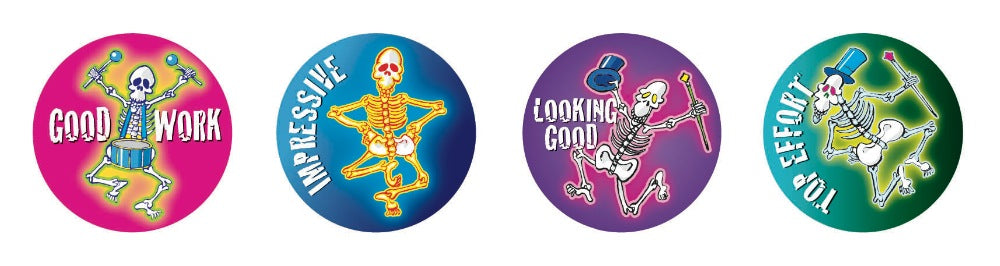 Skeleton - Merit Stickers
