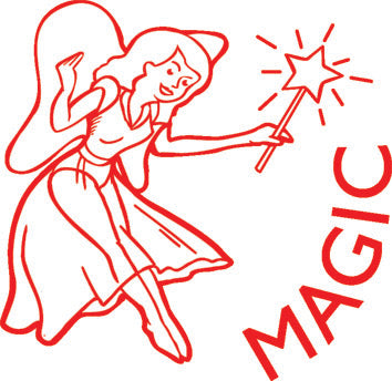 Magic Fairy - Merit Stamp