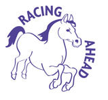 Racing Ahead Horse - Merit Stamp