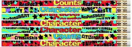 Character Counts - Pencils