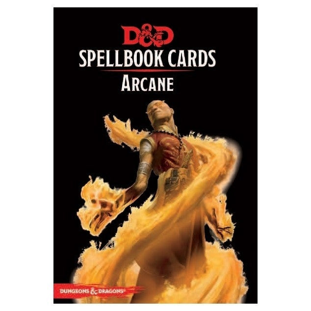 Arcane Deck - D&D Spellbook Cards 2017 Edition (253 Cards)