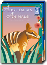 Australian Animals Ages 5-8