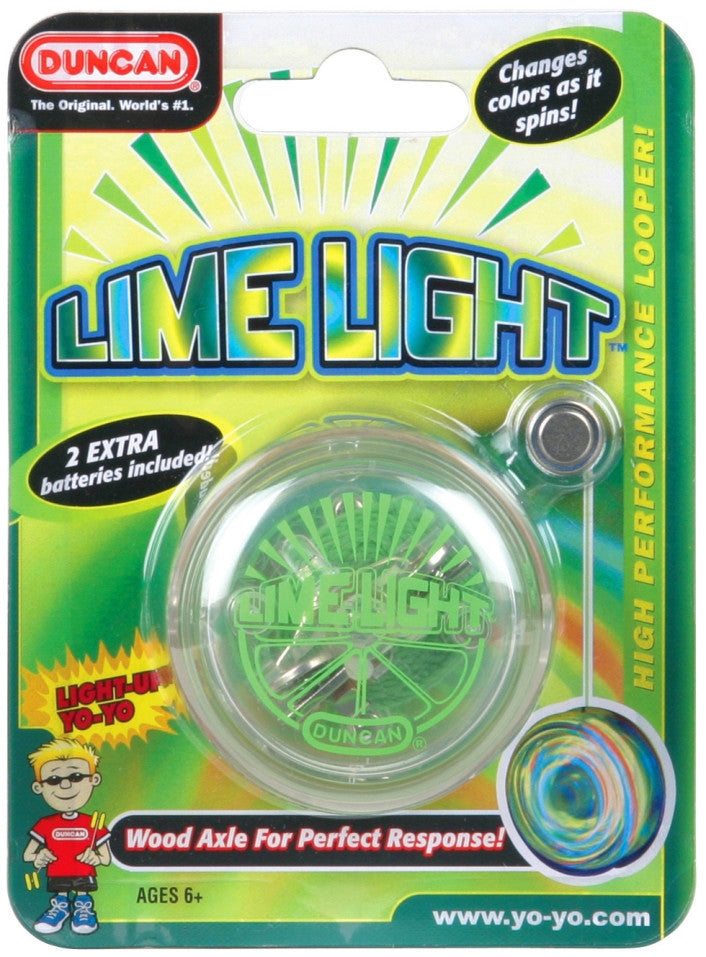 Beginner Lime Light - Duncan Yo-Yo