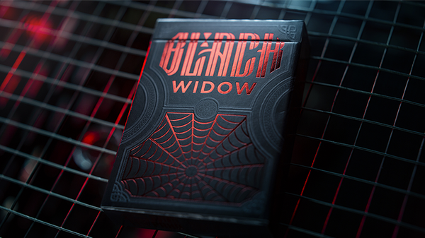 Black Widow - Custom Playing Cards