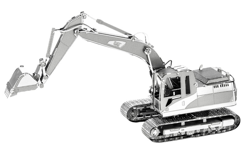 CAT Excavator - Metal Earth