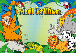 Wild Jungle - Certificate