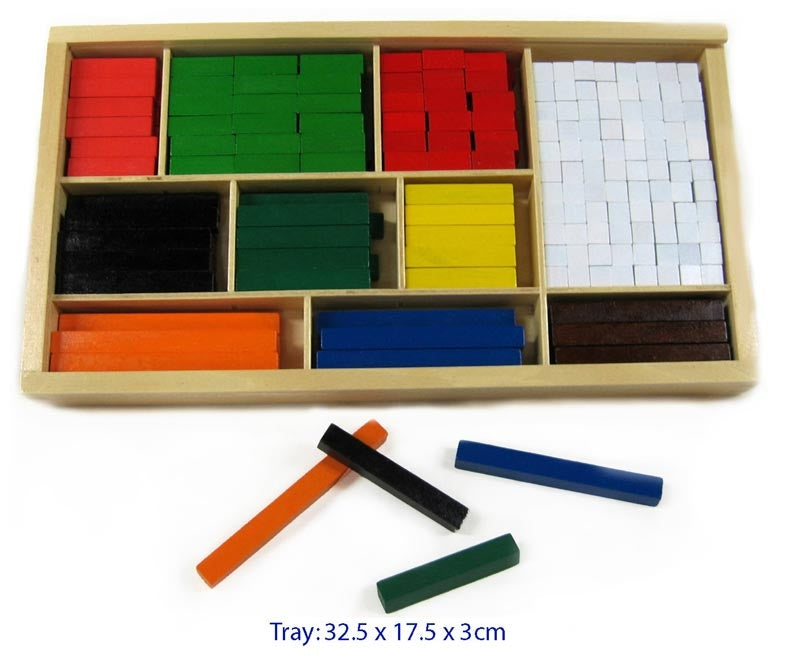 Cuisenaire Rods Wooden 308pc