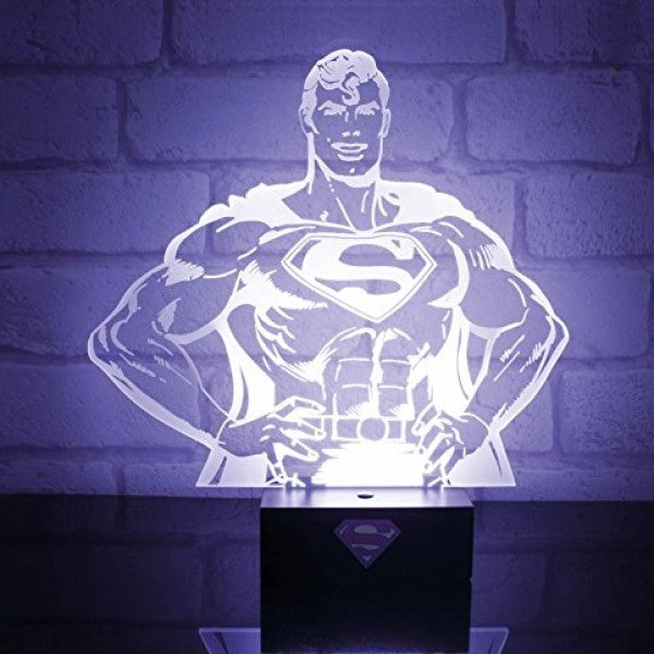 DC - Superman Hero Light