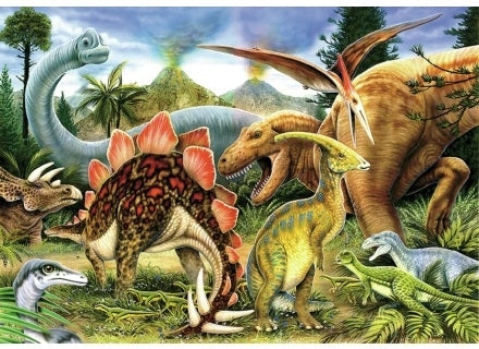 Dinosaurs - Wentworth Puzzles 40 pc