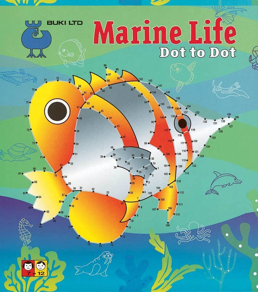 Dot to Dot Marine Life