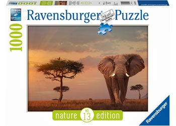 Elephant of the Massai Puzzle - 1000 pc