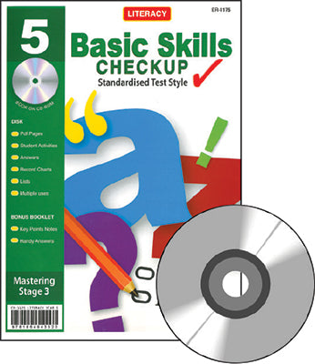 Year 5 Literacy Basic Skills Checkup - Booklet and CD