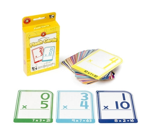 Flash Cards - Multiplication 0 to 12