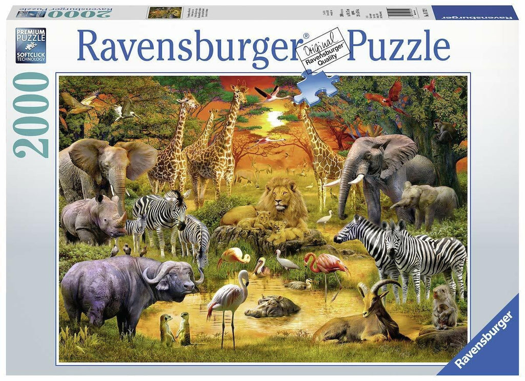Gathering at the Waterhole Puzzle - 2000pc