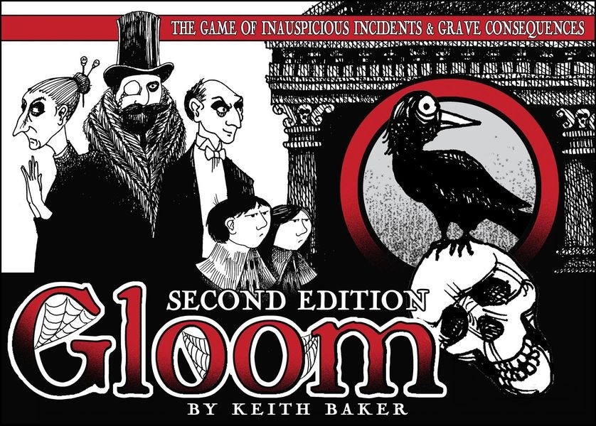 Gloom The Card Game - 2nd Edition