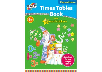 Times Tables Sticker Reward Book