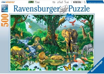 Harmony in the Jungle Puzzle - 500 pc