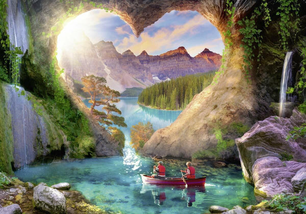 Heartview Cave Puzzle - 1000pc