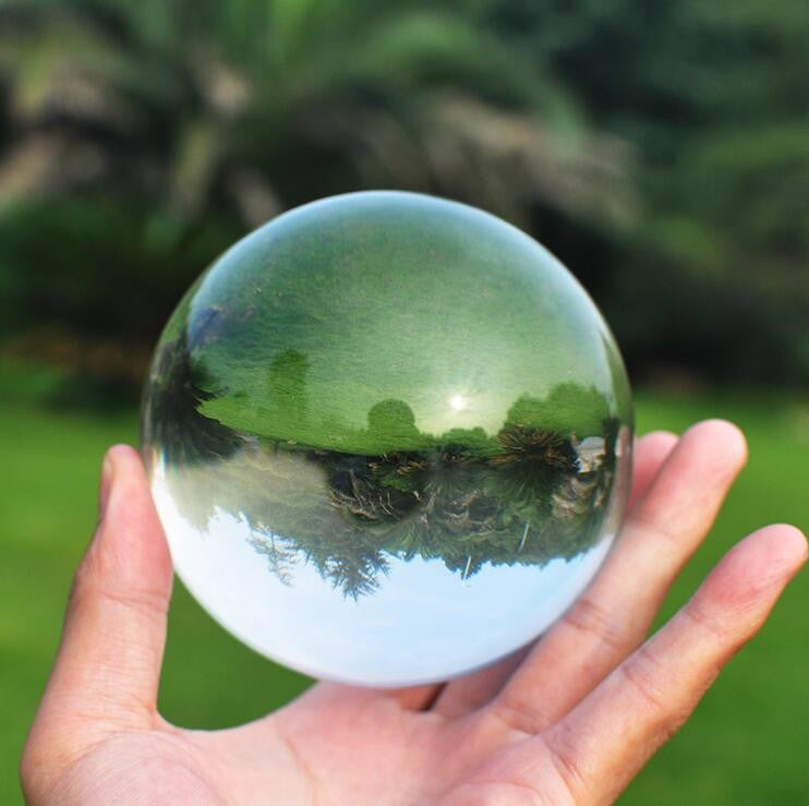 Contact Juggling Clear Acrylic Ball 70mm