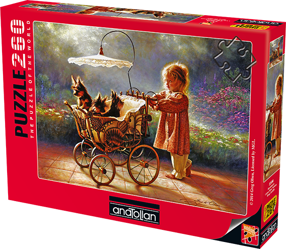 I Love New Yorkies - Jigsaw 260pc