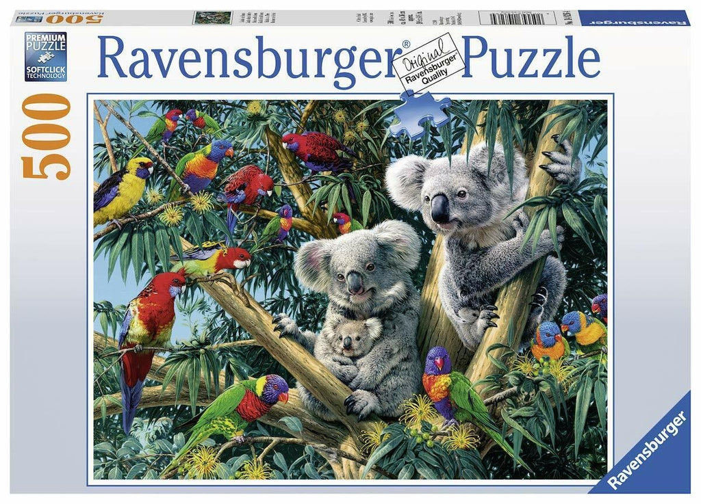 Koalas in a Tree Puzzle - 500pc