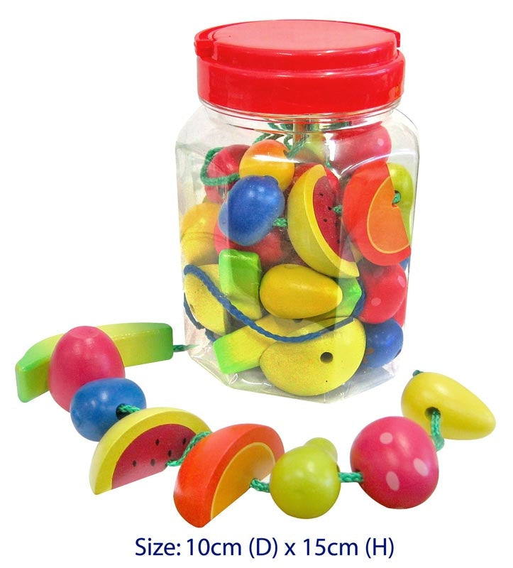 Lacing Fruits 34pc in Jar