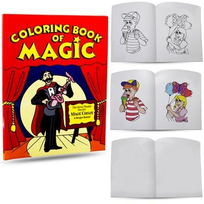Magic Colouring Book - 8.5 x 11in