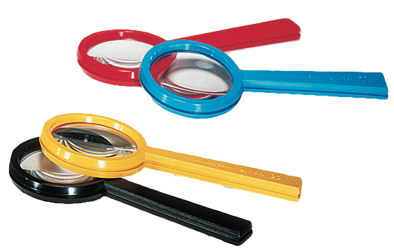 Magnifying Lens Yellow